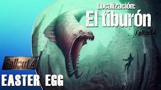 getlinkyoutube.com-Localización MONSTRUO MARINO en Fallout 4 (EASTER EGG JAWS)