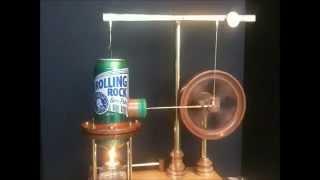 getlinkyoutube.com-Making the Rolling Rock Stirling Engine