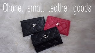 getlinkyoutube.com-CHANEL | small leather goods comparison