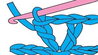 """getlinkyoutube.com-Crochet  A Simple """"V"""" Stitch Fabric"""