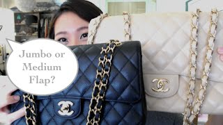 getlinkyoutube.com-Choosing the Chanel Jumbo or Medium flap