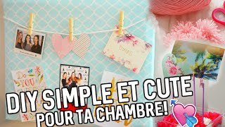 getlinkyoutube.com-DIY simple & CUTE pour ta chambre!