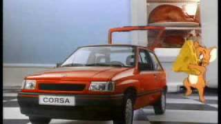 getlinkyoutube.com-Opel Corsa A mit Tom und Jerry