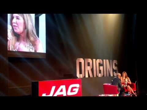 Fashion icon and Project Runway's judge, Nina Garcia, talks about bloggers at Jag Origins PhFw 2013