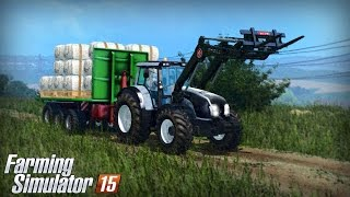 getlinkyoutube.com-Farming Simulator 15 - Valtra T163 Gameplay (Loading Wool)