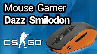 getlinkyoutube.com-Review e Unboxing - Mouse Gamer Dazz Smilodon