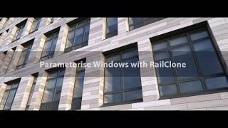 Parameterising Windows with RailClone