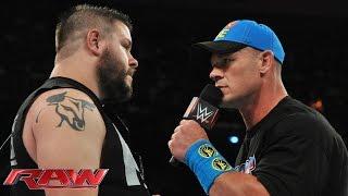 getlinkyoutube.com-Kevin Owens interrupts John Cena's U.S. Open Challenge: Raw, June 8, 2015