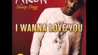 Akon Ft. Snoop Dogg - I Wanna Love You ( HQ )