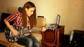 getlinkyoutube.com-Slash - Anastasia (guitar cover by Marina Andrienko)