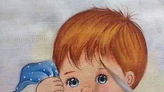 Como pintar cabelinho