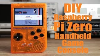 getlinkyoutube.com-DIY Raspberry Pi Zero Handheld Game Console (Part 2)