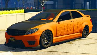 "getlinkyoutube.com-GTA 5 Online - NEW Armored ""Benefactor Schafter V12"" DLC Car & Customization Guide!"