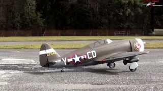 getlinkyoutube.com-Hangar 9 P-47D-1 Thunderbolt  Razorback Jug