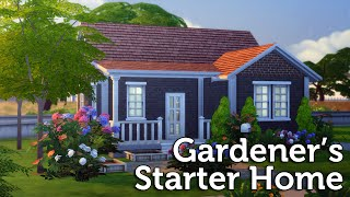 getlinkyoutube.com-The Sims 4 Speed Build: Gardener's Starter Home