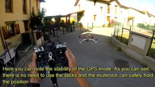getlinkyoutube.com-Dji F450 with Naza M-Lite. Part 4: First flight