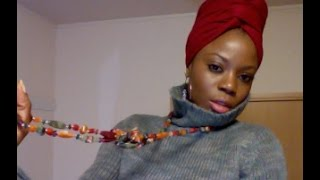 getlinkyoutube.com-Turban inspired head wrap tutorial