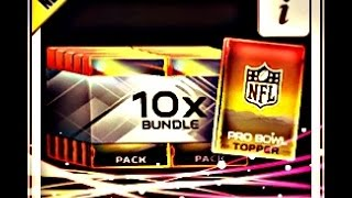 getlinkyoutube.com-Madden Mobile Ultimate Team :- Pro Bowl Bundle Opening LEGEND ROOKIE TOPPER :- Madden Mobile