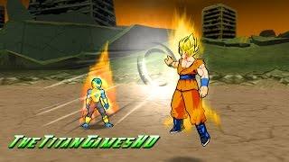 getlinkyoutube.com-Dragon Ball Z Shin Budokai 2 Mods - Goku Ssj FNF Vs Frost Gold Form