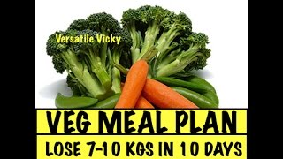 getlinkyoutube.com-Lose Weight Fast 10 Kgs in 10 Days Veg Meal Plan | Lose Weight Quickly