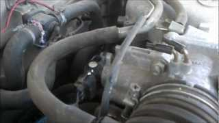 throttle position sensor replacement in a toyota tacoma. tps install vid. -  youtube  youtube
