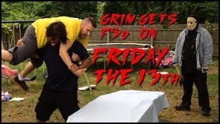 getlinkyoutube.com-Grims Toy Show ep 876: F5'd on a TABLE! Backyard Wrestling Match! WWE Action Figures collections