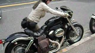getlinkyoutube.com-HONDA Shadow400 シャドウ 400 Custom