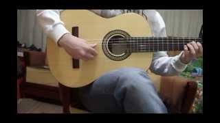 getlinkyoutube.com-Tamally Ma3ak(On Guitar)