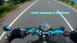 getlinkyoutube.com-Bajaj Avenger street 220 Top Speed