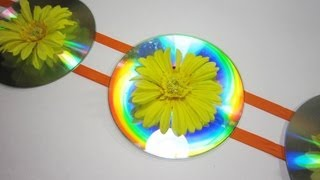getlinkyoutube.com-How to make room decorations with recycled cds - EP - simplekidscrafts