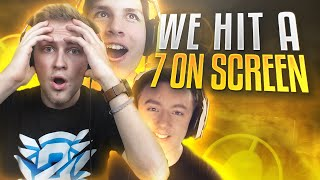 WE HIT A 7 ON SCREEN (Grind Squad Highlights)