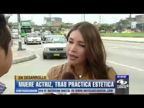 2da parte muere actriz colombiana por cirugia este