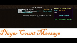 getlinkyoutube.com-PlayerCountMessage version 4.3