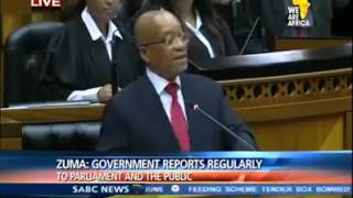 President Zuma Can't Pronounce Problematising