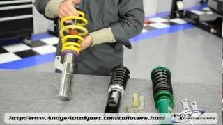getlinkyoutube.com-Lowering Springs vs Coilovers -- Presented by Andy's Auto Sport