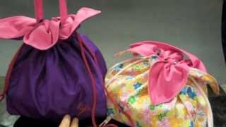 getlinkyoutube.com-Japanese Inspired Flower Petal Lunchbag Sewing Tutorial
