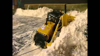 Street Snow Removal Dio Stop Motion