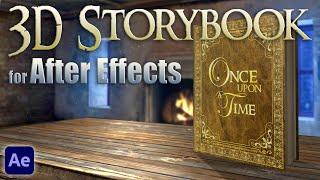 getlinkyoutube.com-Custom 3D Storybook for After Effects