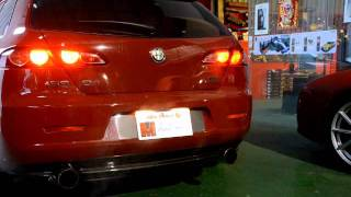 getlinkyoutube.com-Alfa Romeo 159 SW 3.2 JTS Q4 with special camshaft
