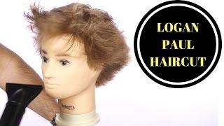 getlinkyoutube.com-LOGAN PAUL HAIRCUT - TheSalonGuy