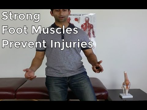 Strong Foot Muscles For Preventing Injuries