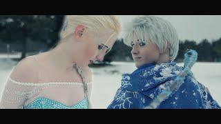getlinkyoutube.com-Elsa & Jack Frost - Platinum Locks Cosplay Feature