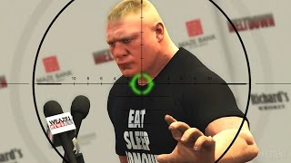getlinkyoutube.com-GTA 5 WWE Mods - BROCK LESNARS ASSASSINATION ESCAPE! (Grand Theft Auto V Mods)