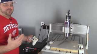 getlinkyoutube.com-My 6040 CNC Router / Milling Machine