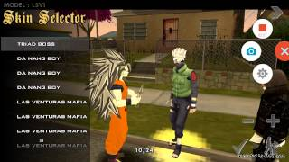 Gta san andreas Anime mod pack beta v1 for android