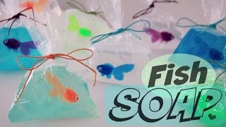 getlinkyoutube.com-DIY Fish in a Bag Soap - Easy Soap Making How To for Beginners