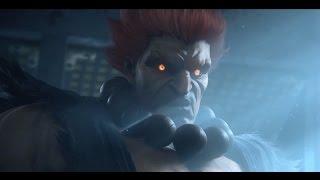 getlinkyoutube.com-Tekken 7 PS4 Gameplay of Akuma vs Heihachi - TGS 2016