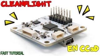 getlinkyoutube.com-FT: Instalación del firmware CleanFlight en OpenPilot CC3D (tutorial HD ESP)