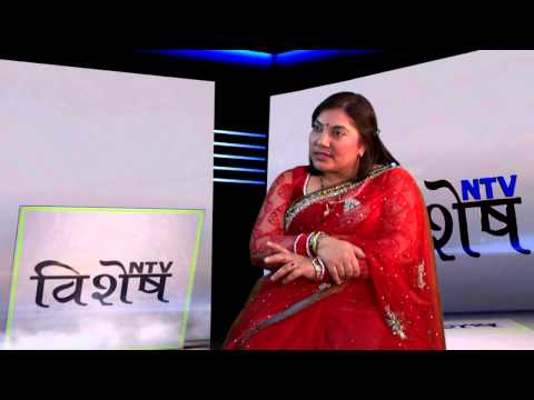 Sushila Karki on NTV Bisesh with Dhruba Raj Aryal