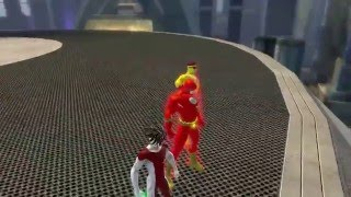getlinkyoutube.com-DCUO:The Flash Kid Flash and Impulse